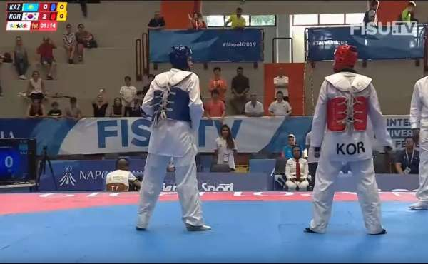 Taekwondo Universiadas - [VIDEO] Final 49KW, 58K M,80K M. Nápoles, Italia 2019