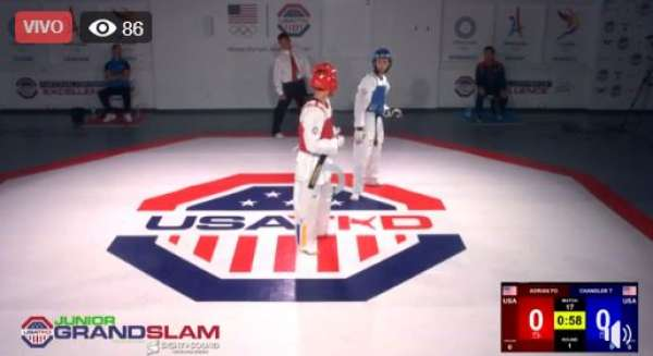 Taekwondo USA - LIVE | 2019 Junior Grand Slam | Men's -51kg | USATKD National Center of Excellence